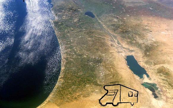 חוצה ישראל בקרוואן