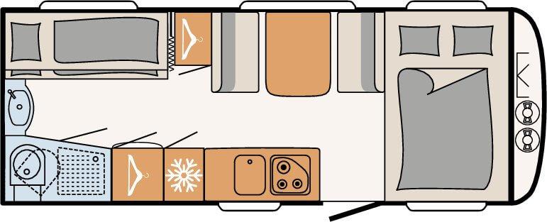 תכנון פנימי דגם ערוגות